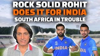 Rock solid Rohit does it for India | South Africa in Trouble