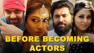 Kollywood Celebrities : Jobs before Acting   Anushka, Nani, Vishnu Vishal & MORE Actors!
