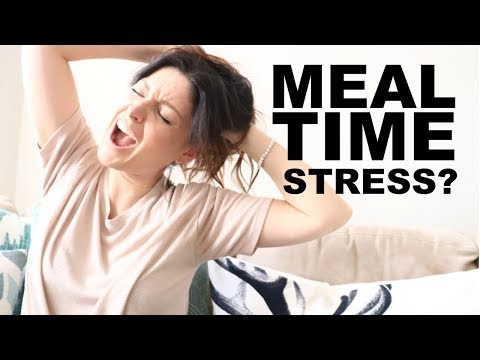 Reduce meal time stress