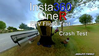 Episode 32 - Insta360 OneR Flight Test No FlowState Stabilization Crash Test - 4K