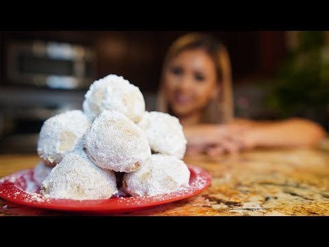 HOW TO MAKE POLVORONES (MEXICAN WEDDING COOKIES)