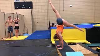 Прыжки в воду/тренировки на суше для прыгунов