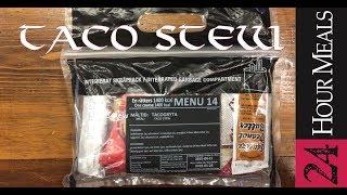 24 Hours Meals: Menu 14 Taco Stew ~TACOGRYTA~