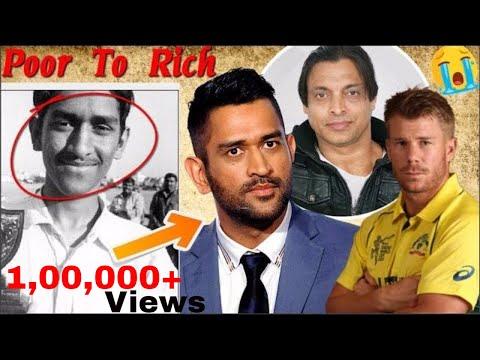 5 ऐसे  क्रिकेट स्टार जो कभी गरीबी से मजबूर थे -  biography in hindi -Cricket Facts