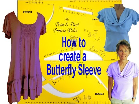 How to make a butterfly sleeve