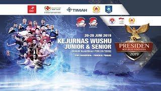 KEJURNAS WUSHU JUNIOR & SENIOR 2019 SANDA DAY 3 SESI II