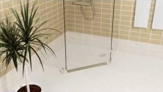 BLÜCHER® Drain Domestic WaterLine channel for sheet membrane