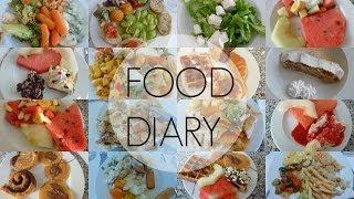 FOOD DIARY | 1 Woche im Urlaub/Hotel