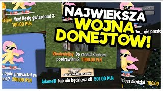 WOJNA DONATE! - FUNNY MOMENTS 99,5 BY Maryl