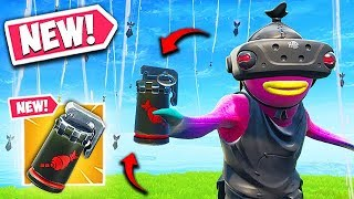 *NEW* AIR STRIKE ITEM IS CRAZY! - Fortnite Funny Fails and WTF Moments! #613