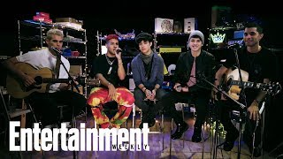 CNCO Perform 'De Cero'   In The Basement   Entertainment Weekly