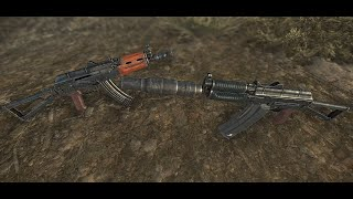 FNV Arsenal Weapons Overhaul - Kalashnikov AKs74u