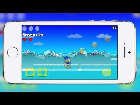 Video of Happy Chick - Platform Game