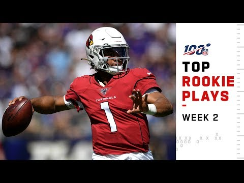 Top Rookie Plays from Week 2 | NFL 2019 Highlights