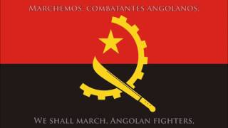National anthem of Angola (PT/EN lyrics) - Hino nacional de Angola