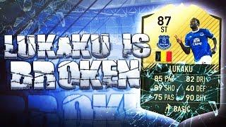 SIF LUKAKU IS BROKEN!! FIFA 17 ULTIMATE TEAM