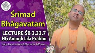 Srimad Bhagavatam(3.33.7) By HG Amoghlila Prabhu On 19th Sep, 2018