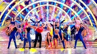Strictly Stars Final Group Dance - Strictly Come Dancing Final 2016