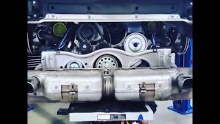 2007 Porsche 911 Turbo engine repair and installation