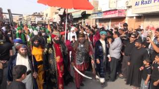 preview picture of video 'موكب السبايا - العزاء المركزي - الديه 11 محرم 1434'