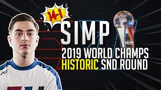 BEST Sniper Round EVER?! Simp's Historic Map at 2019 CoD World Champs