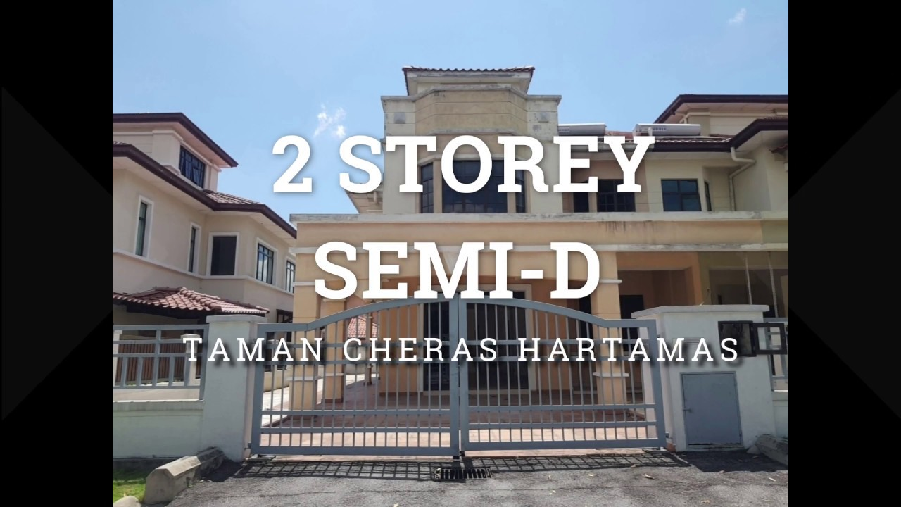 [Owner Auction™] Semi-D in Taman Cheras Hartamas (Danau Mas) from only RM354 psf!