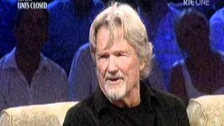 """Video thumbnail of """"Kris Kristofferson interviewed by Miriam O Callaghan...07/08/2010."""""""