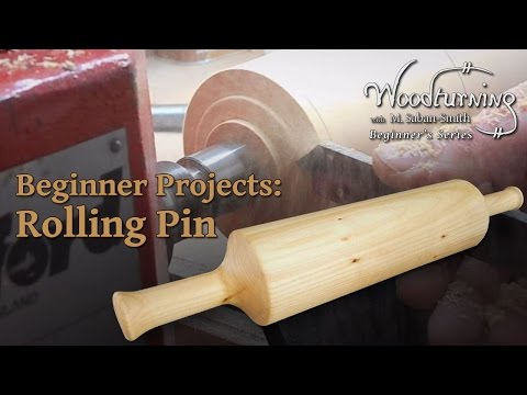 Rolling Pin - Beginners Woodturning Project