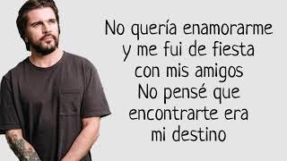 Juanes Y Sebastián Yatra   Bonita (Letra)
