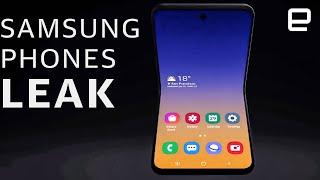 Samsung's new Galaxy phones leak again