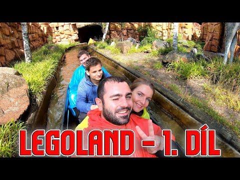 BURGER ZA 600 KČ a další dobrodružství v dánském LEGOLANDU!