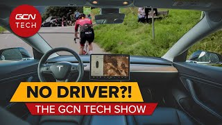Are Self Driving Cars Safe Around Cyclists? | GCN Tech Show 196