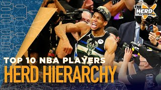 Colin Cowherd ranks the best NBA players heading into next season | NBA | THE HERD