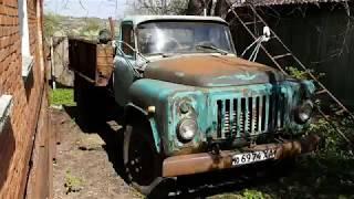 Заводим ГАЗ-52 после 5 лет простоя