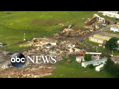 Tornado in Oklahoma kills at least 2 people