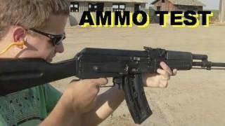 AK47  22 Caliber Ammo Rapid Fire Test GSG  ATA