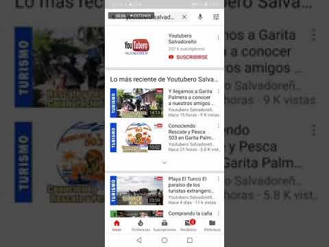 Como activar la campanita de notificaciones en un canal de Youtube