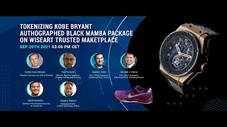 Webinar: Tokenizing the Kobe Bryant Autographed Black Mamba NFT Package