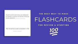 The Best Flashcard Method (USING QUIZLET)