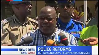 New NPSC team finds 300 police not culpable