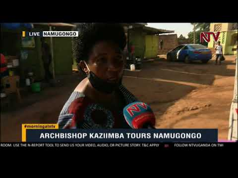 ON THE GROUND: Archbishop Kazimba expected to tour Namugongo