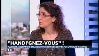 Céline Boussié Présidente de l'association Handignez'vous