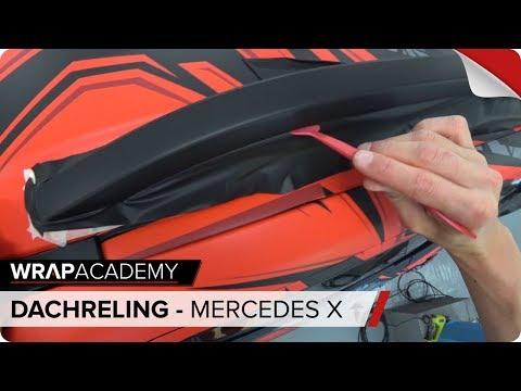 DACHRELING FOLIEREN - Mercedes X-Klasse