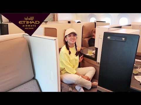 Etihad Airways Business Class Review || SophieTime