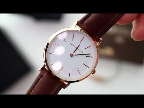 Unboxing XLORDX Classic Damen Armbanduhr Analog Business Braun Leder