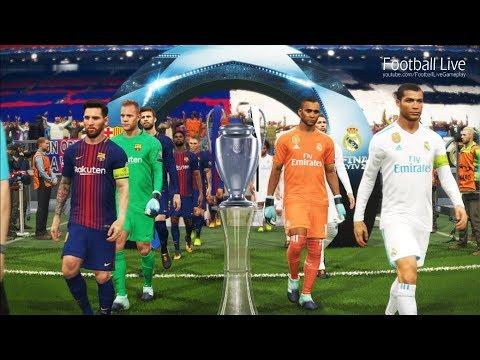 PES 2018   REAL MADRID vs FC BARCELONA   Final UEFA Champions League   Penalty Shootout