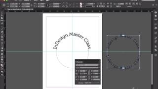 Putting Type on the Top and Bottom of a Circle - InDesign Tip of the Week