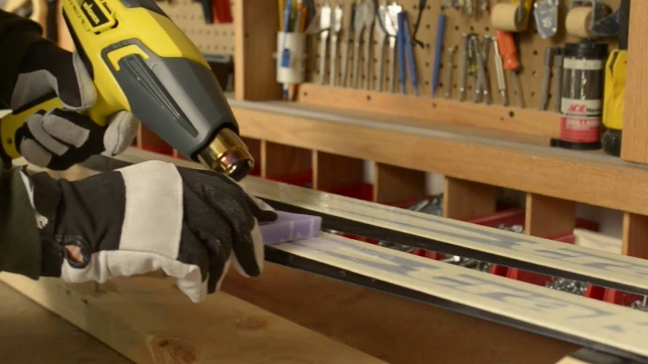 Furno: Waxing Skis Project