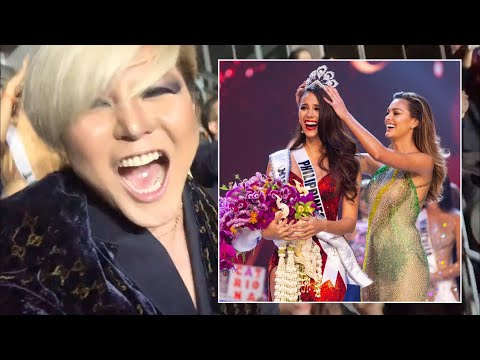 Miss Universe 2018 final | Reaction moment | Bryan Tan