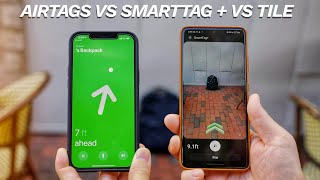 Apple AirTags vs Samsung SmartTag Plus vs Tile: Find the RIGHT One!